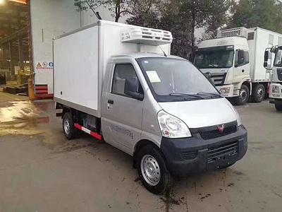 国六五菱荣光小型冷藏车